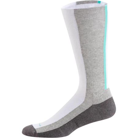 PUMA x EMORY JONES Men's Crew Socks [1 Pair], Lt. Heather Grey-Charcoal He, small